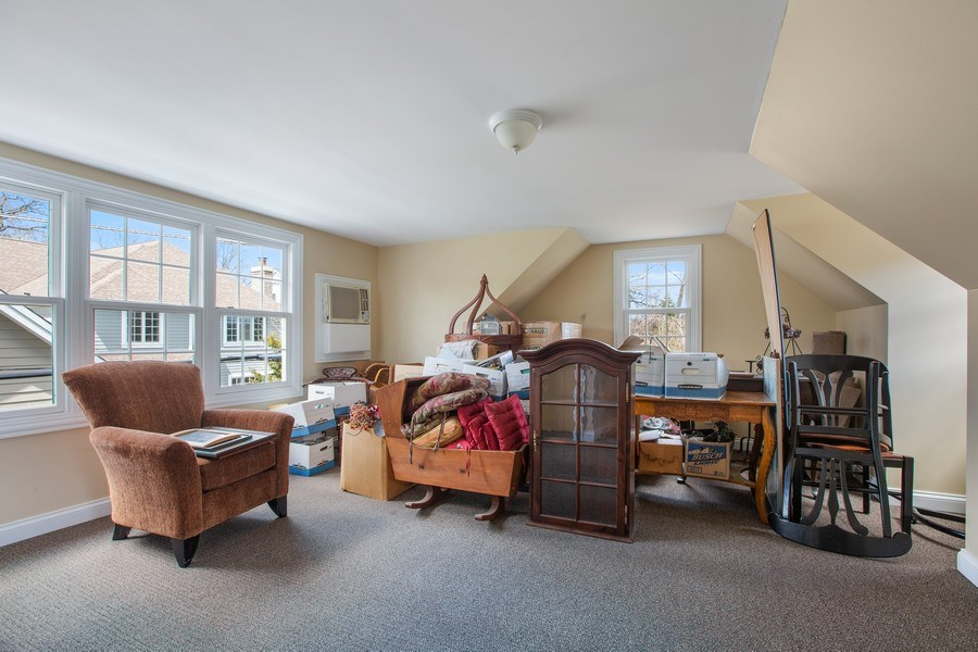 Real Estate Photography - 108 Oxford Ave., Clarendon Hills, IL, 60514 - Bonus Room Over Garage