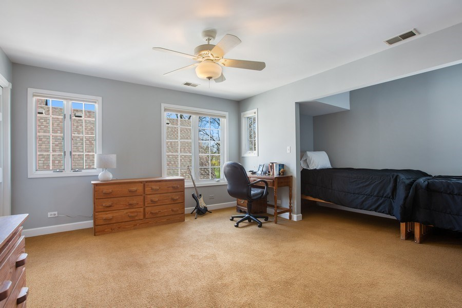 Real Estate Photography - 108 Oxford Ave., Clarendon Hills, IL, 60514 - Bedroom 2