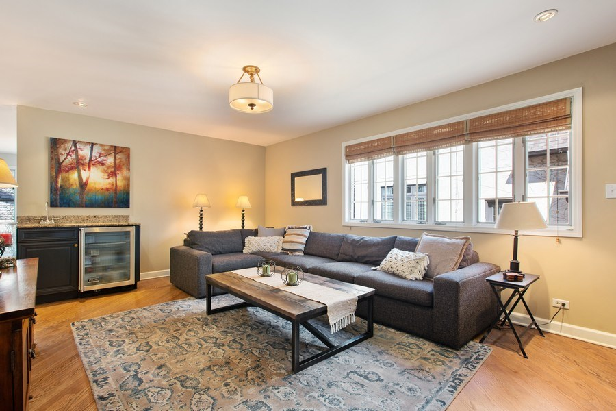Real Estate Photography - 108 Oxford Ave., Clarendon Hills, IL, 60514 - Family Room (alternate view)