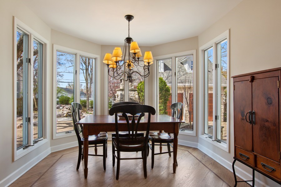 Real Estate Photography - 108 Oxford Ave., Clarendon Hills, IL, 60514 - Breakfast Area