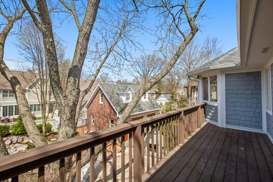 Real Estate Photography - 108 Oxford Ave., Clarendon Hills, IL, 60514 - Balcony