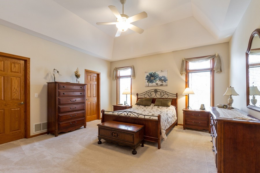 Real Estate Photography - 11105 Sandpiper Ct, Spring Grove, IL, 60081 - Master Bedroom