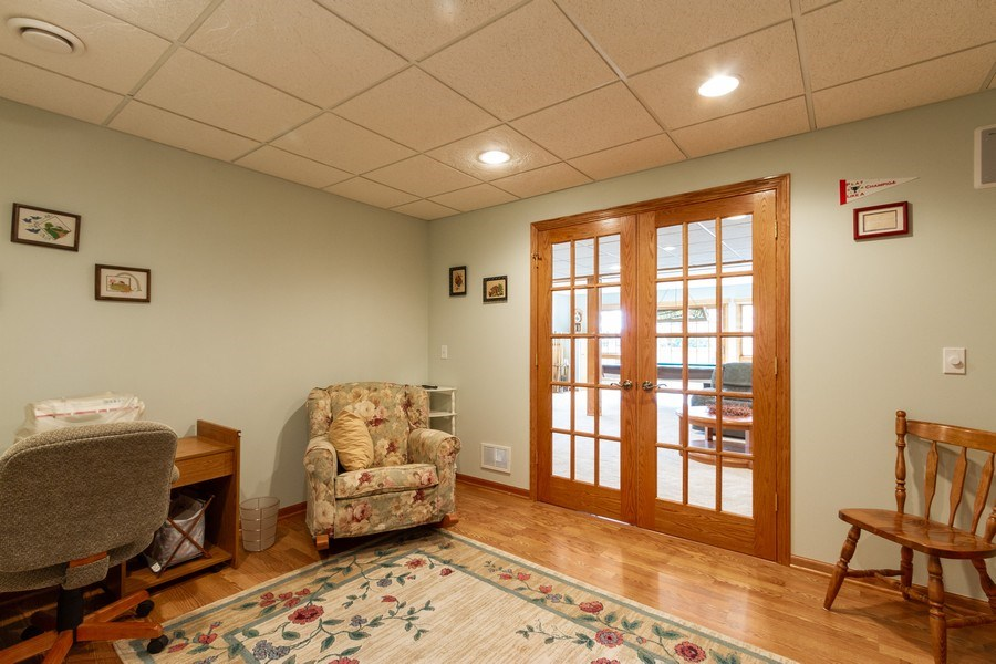Real Estate Photography - 11105 Sandpiper Ct, Spring Grove, IL, 60081 - Walk out Lower level  4th Bedroom? Office? Playroo