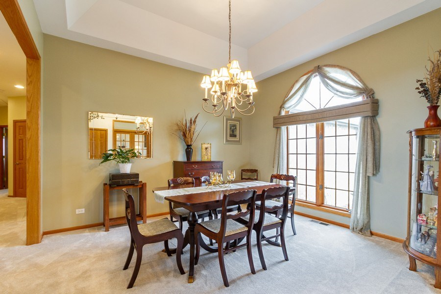 Real Estate Photography - 11105 Sandpiper Ct, Spring Grove, IL, 60081 - Dining Area