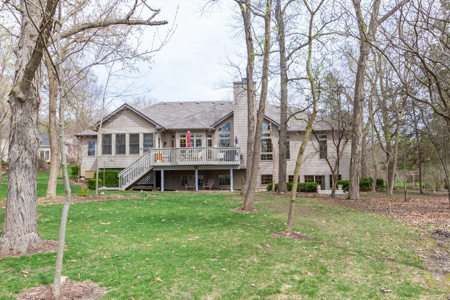 Real Estate Photography - 11105 Sandpiper Ct, Spring Grove, IL, 60081 - Rear View