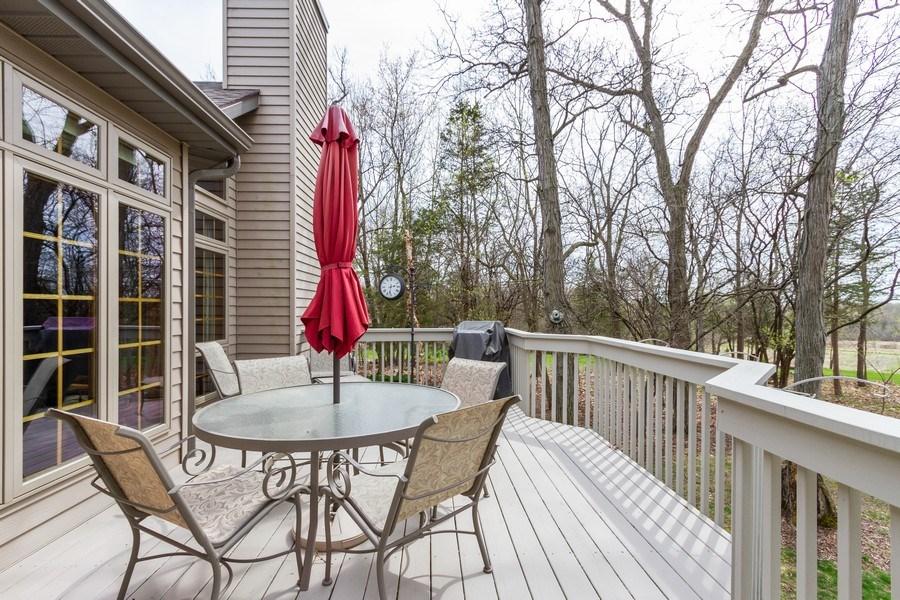 Real Estate Photography - 11105 Sandpiper Ct, Spring Grove, IL, 60081 - Deck