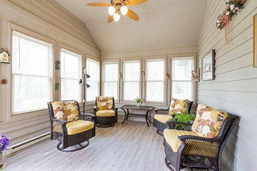 Real Estate Photography - 11105 Sandpiper Ct, Spring Grove, IL, 60081 - Sun Room