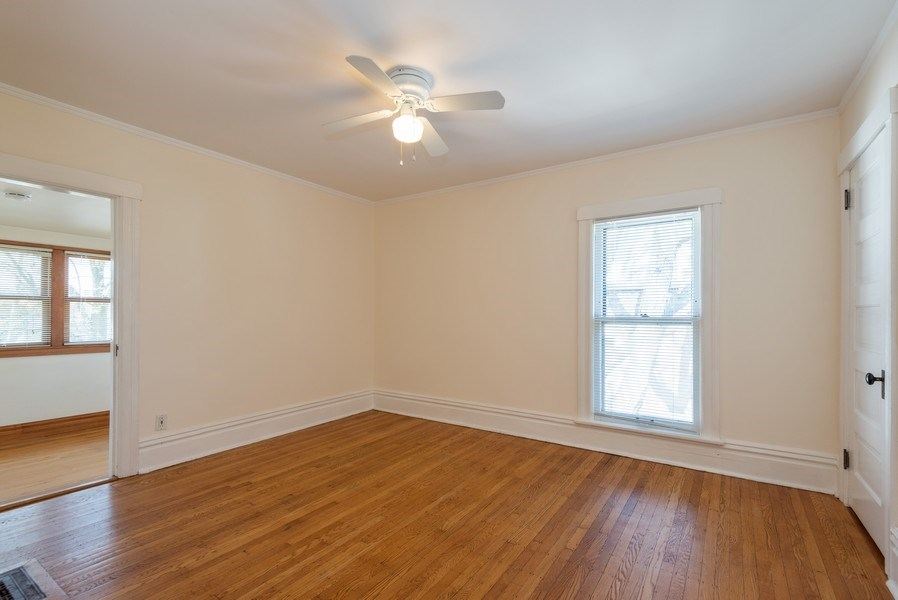 Real Estate Photography - 2622 Prairie, Evanston, IL, 60201 - Unit 2-  Master BR opens to Sun Room