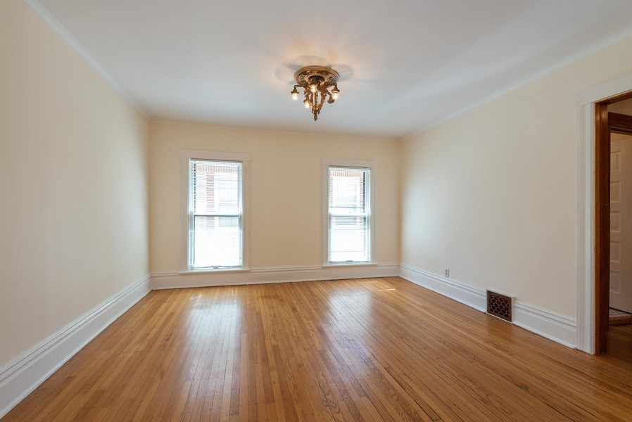 Real Estate Photography - 2622 Prairie, Evanston, IL, 60201 - Unit 2 - Dining Room off LR