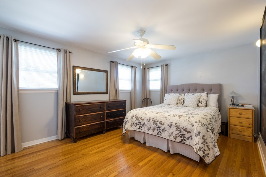 Real Estate Photography - 829 Lacrosse Ave, Wilmette, IL, 60091 - Master Bedroom