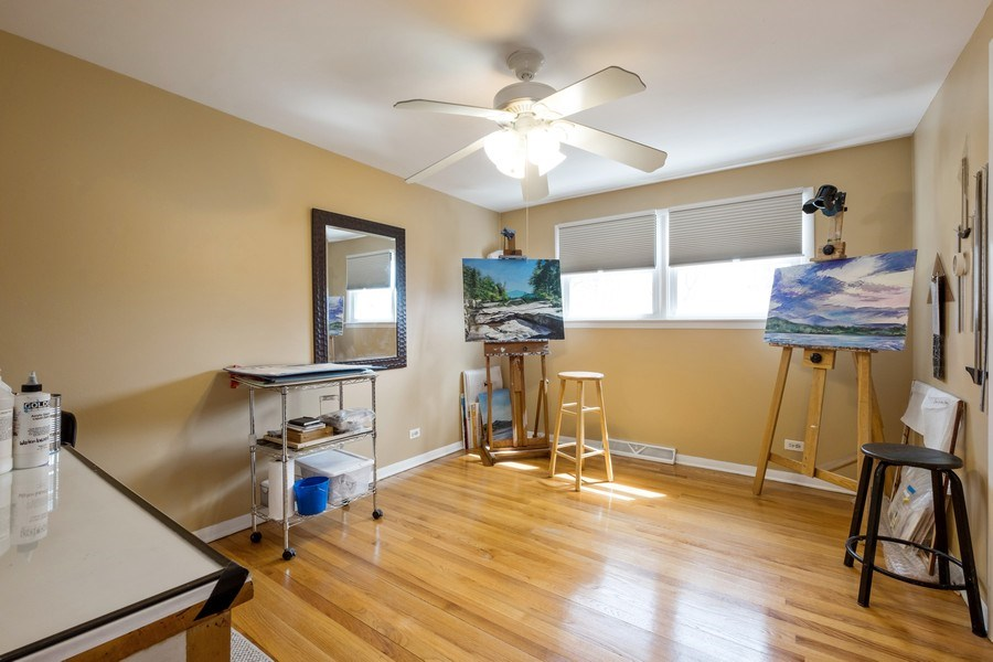 Real Estate Photography - 829 Lacrosse Ave, Wilmette, IL, 60091 - 3rd Bedroom