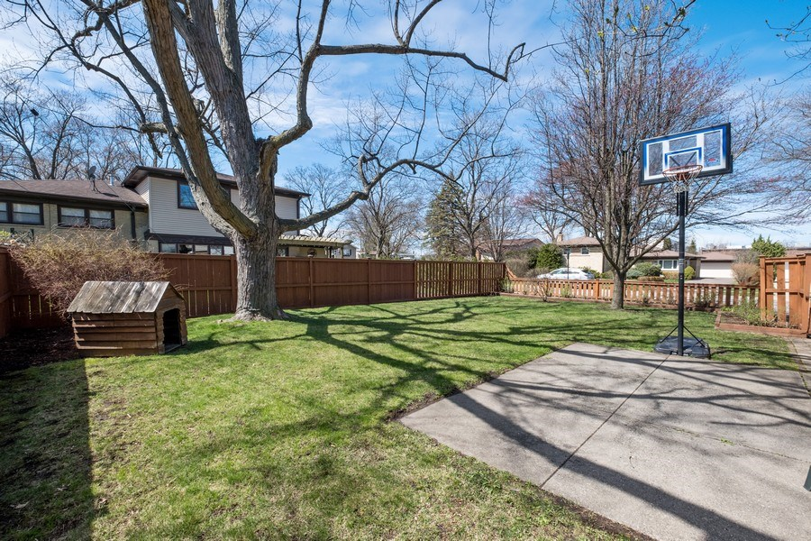 Real Estate Photography - 829 Lacrosse Ave, Wilmette, IL, 60091 - Back Yard
