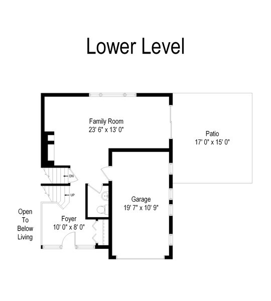 Real Estate Photography - 829 Lacrosse Ave, Wilmette, IL, 60091 - Floor Plan