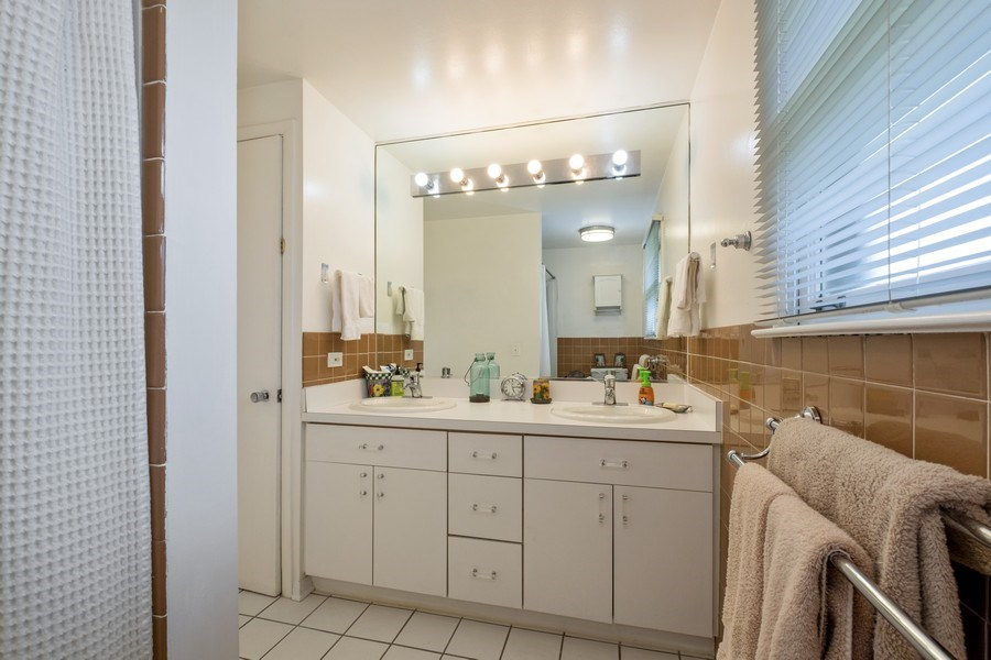 Real Estate Photography - 829 Lacrosse Ave, Wilmette, IL, 60091 - 2nd Bathroom
