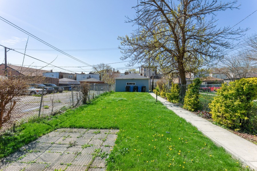 Real Estate Photography - 4827 W Westend, Chicago, IL, 60644 - Back Yard