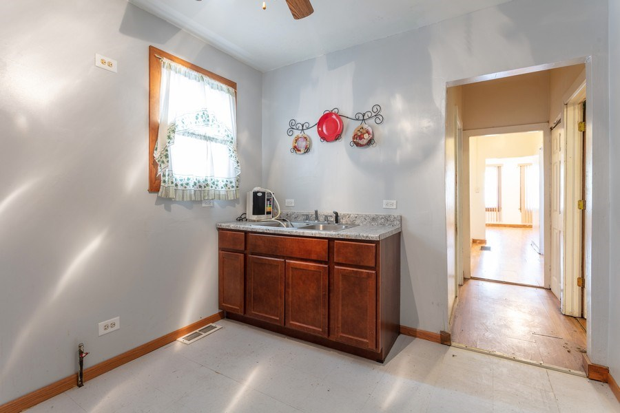 Real Estate Photography - 4827 W Westend, Chicago, IL, 60644 - Kitchen