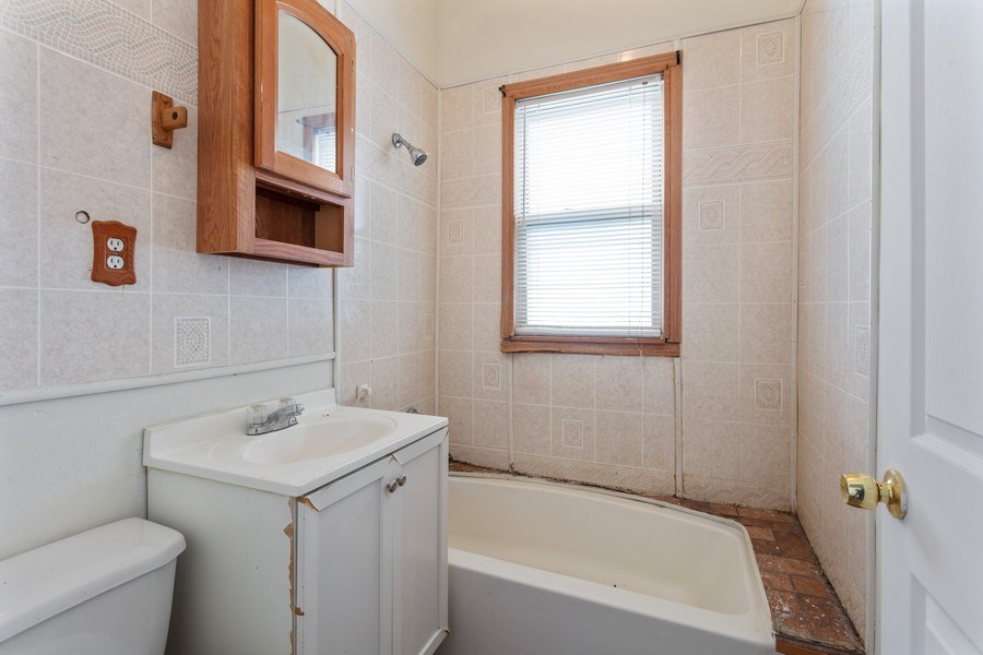 Real Estate Photography - 4827 W Westend, Chicago, IL, 60644 - Bathroom