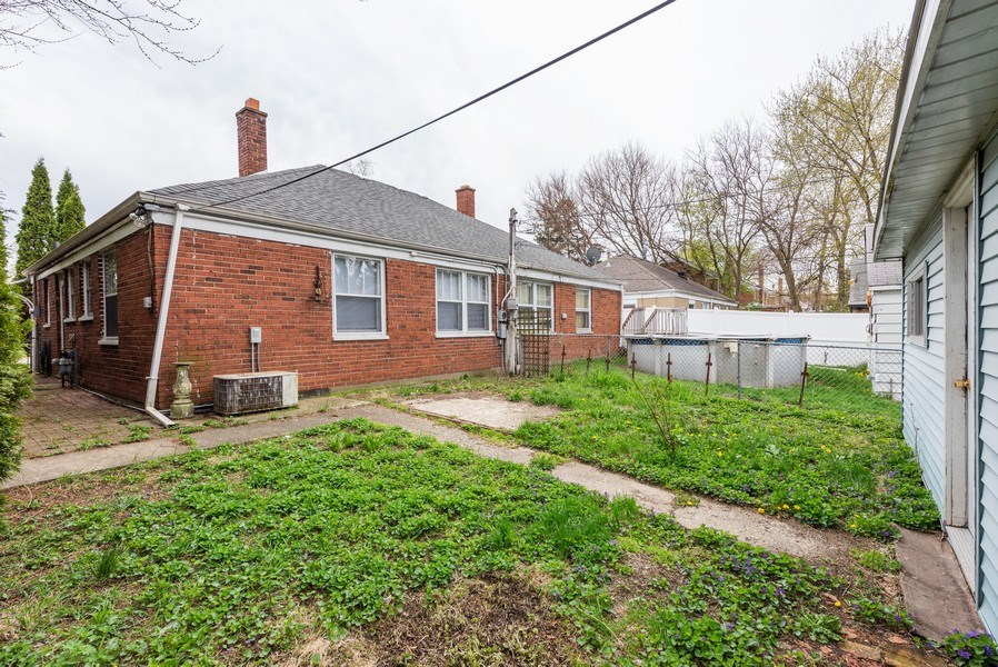 Real Estate Photography - 303 Broadmoor Avenue, Munster, IN, 46321 - Rear View
