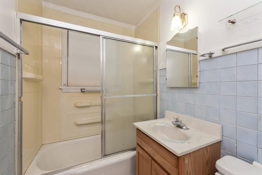 Real Estate Photography - 303 Broadmoor Avenue, Munster, IN, 46321 - Bathroom