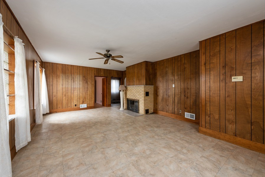Real Estate Photography - 8130 Harrison Ave., Munster, IN, 46321 - Living Room