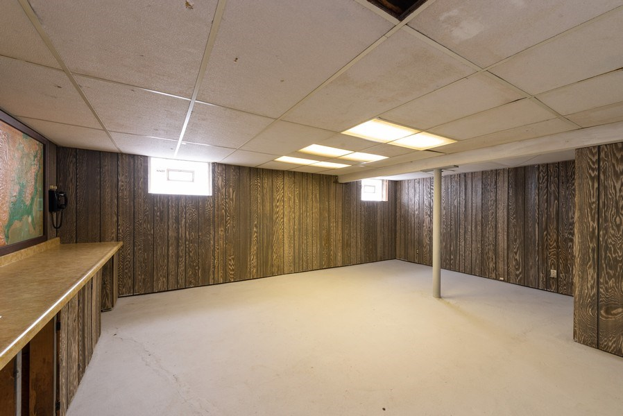 Real Estate Photography - 8130 Harrison Ave., Munster, IN, 46321 - Basement