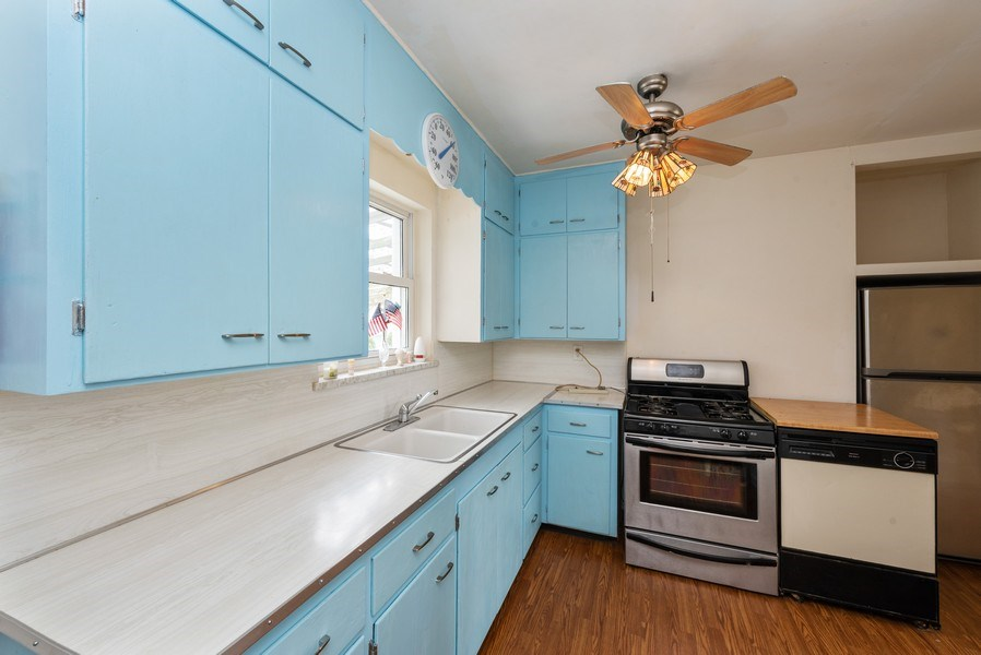 Real Estate Photography - 8130 Harrison Ave., Munster, IN, 46321 - Kitchen
