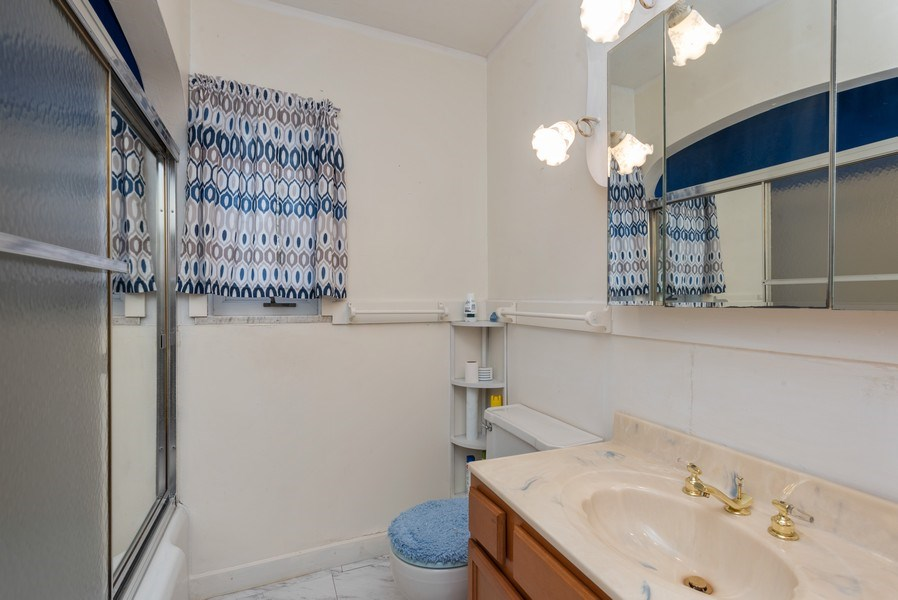 Real Estate Photography - 8130 Harrison Ave., Munster, IN, 46321 - Bathroom