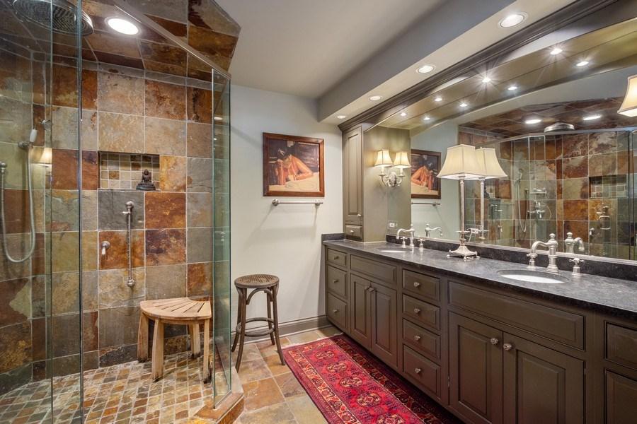 Real Estate Photography - 222 E. Colfax Street, Palatine, IL, 60067 - Master Bathroom