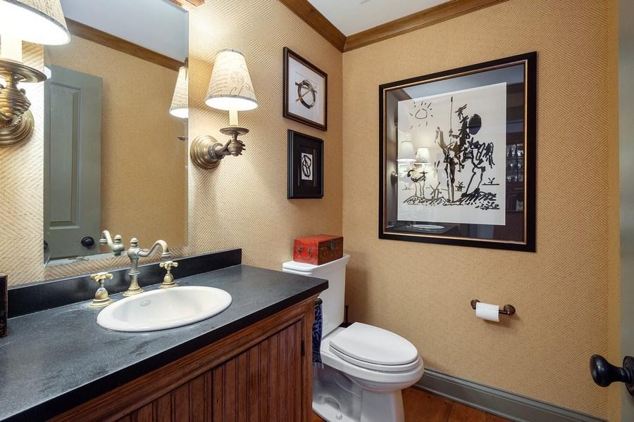 Real Estate Photography - 222 E. Colfax Street, Palatine, IL, 60067 - Powder Room