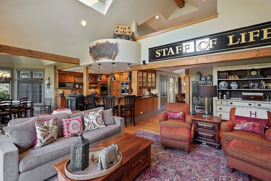 Real Estate Photography - 222 E. Colfax Street, Palatine, IL, 60067 - Great room