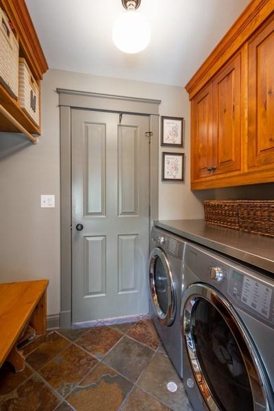 Real Estate Photography - 222 E. Colfax Street, Palatine, IL, 60067 - Laundry Room