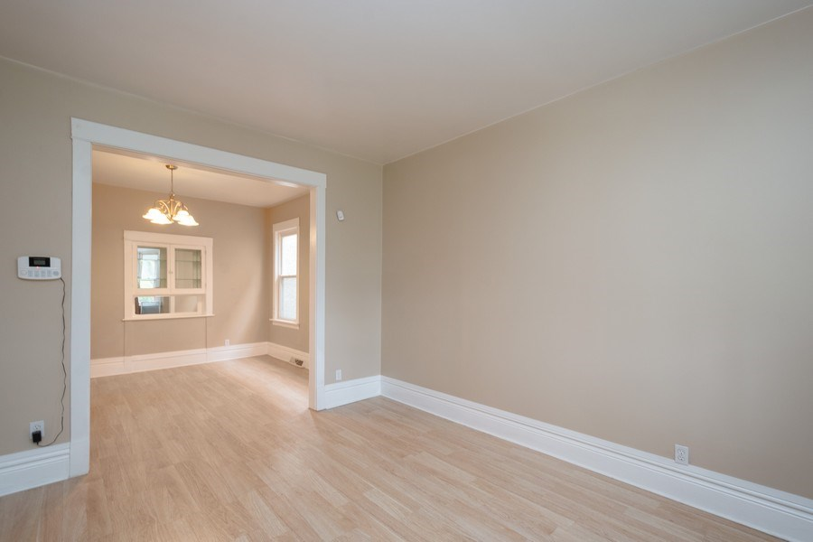 Real Estate Photography - 7823 S. Marquette Ave, Chicago, IL, 60649 - Living Room