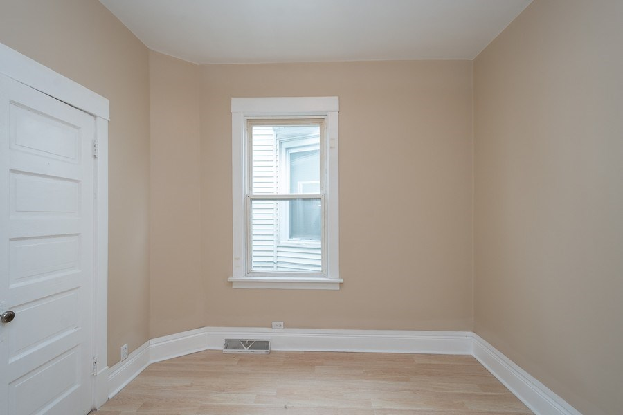 Real Estate Photography - 7823 S. Marquette Ave, Chicago, IL, 60649 - 2nd Bedroom