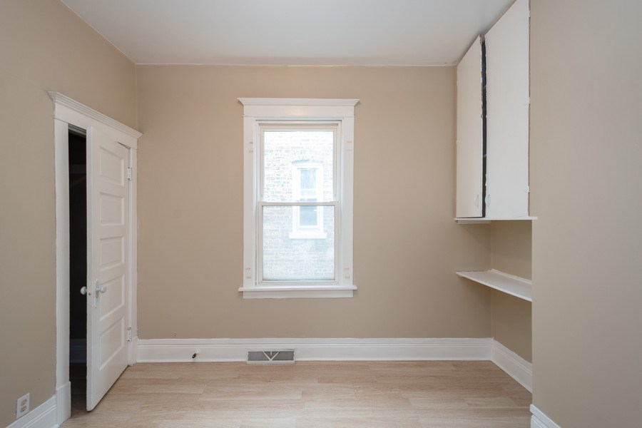 Real Estate Photography - 7823 S. Marquette Ave, Chicago, IL, 60649 - Bedroom