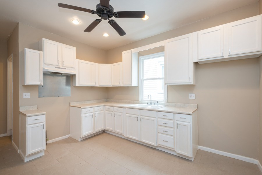 Real Estate Photography - 7823 S. Marquette Ave, Chicago, IL, 60649 - Kitchen