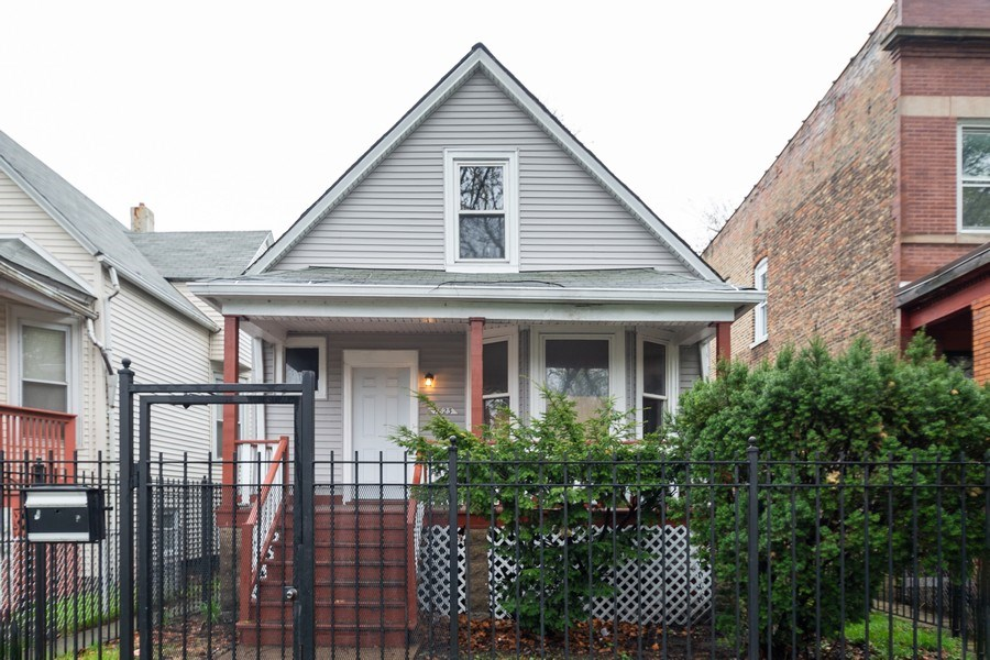 Real Estate Photography - 7823 S. Marquette Ave, Chicago, IL, 60649 - Front View