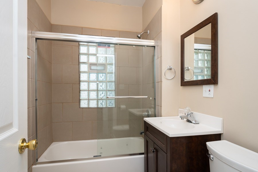 Real Estate Photography - 7823 S. Marquette Ave, Chicago, IL, 60649 - Bathroom