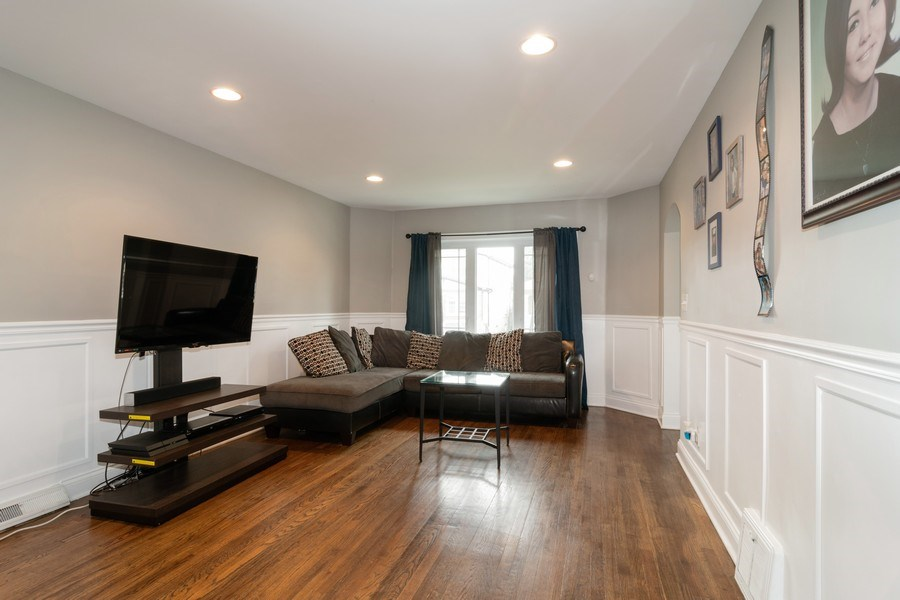 Real Estate Photography - 3137 Harvey Ave ,, Berwyn, IL, 60402 - Living Room