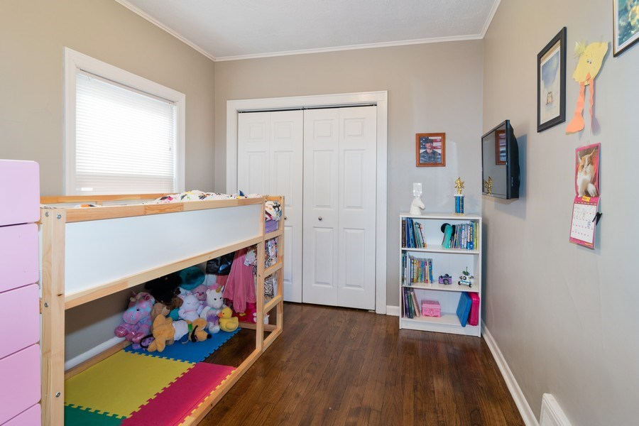 Real Estate Photography - 3137 Harvey Ave ,, Berwyn, IL, 60402 - 3rd Bedroom