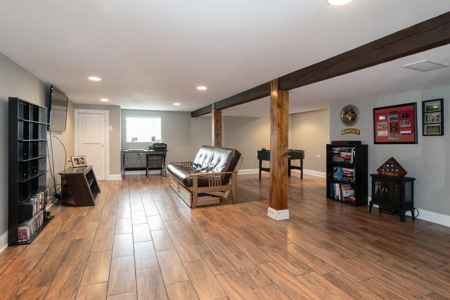 Real Estate Photography - 3137 Harvey Ave ,, Berwyn, IL, 60402 - Family Room