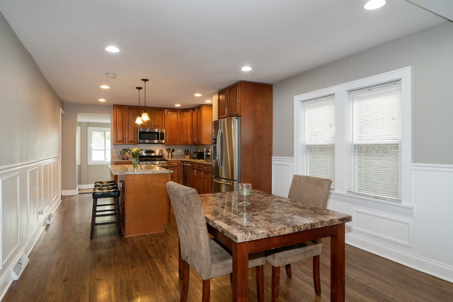 Real Estate Photography - 3137 Harvey Ave ,, Berwyn, IL, 60402 - Dining Area