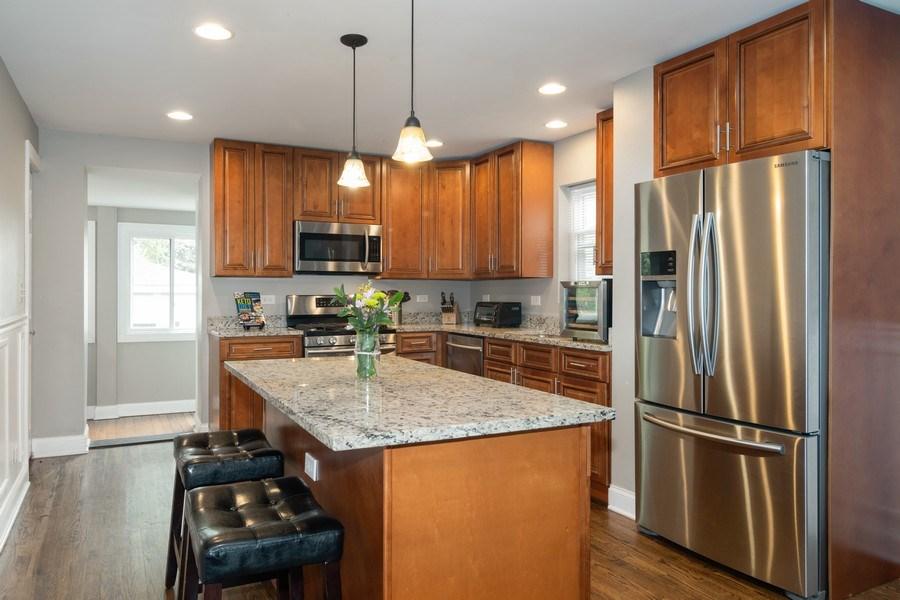 Real Estate Photography - 3137 Harvey Ave ,, Berwyn, IL, 60402 - Kitchen