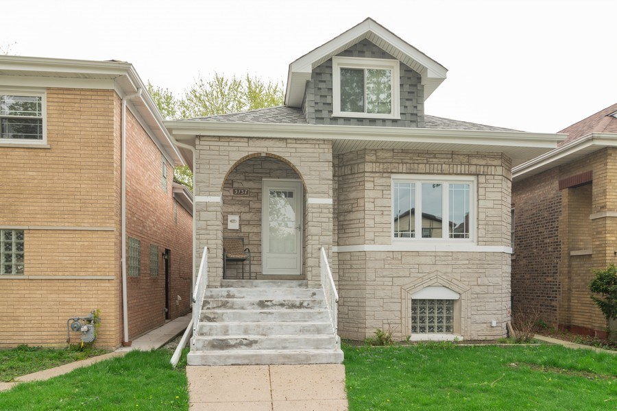 Real Estate Photography - 3137 Harvey Ave ,, Berwyn, IL, 60402 - Front View