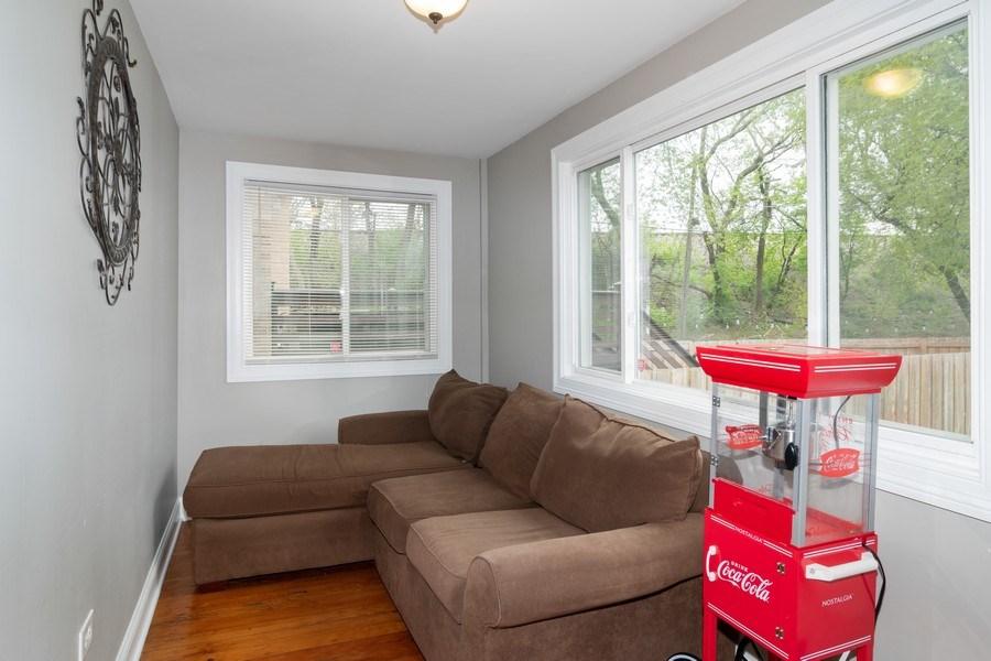 Real Estate Photography - 3137 Harvey Ave ,, Berwyn, IL, 60402 - Sun Room