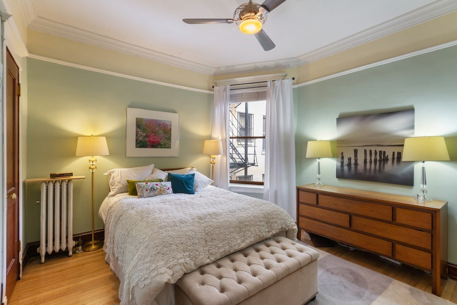 Real Estate Photography - 519 W. Surf, Chicago, IL, 60657 - Master Bedroom