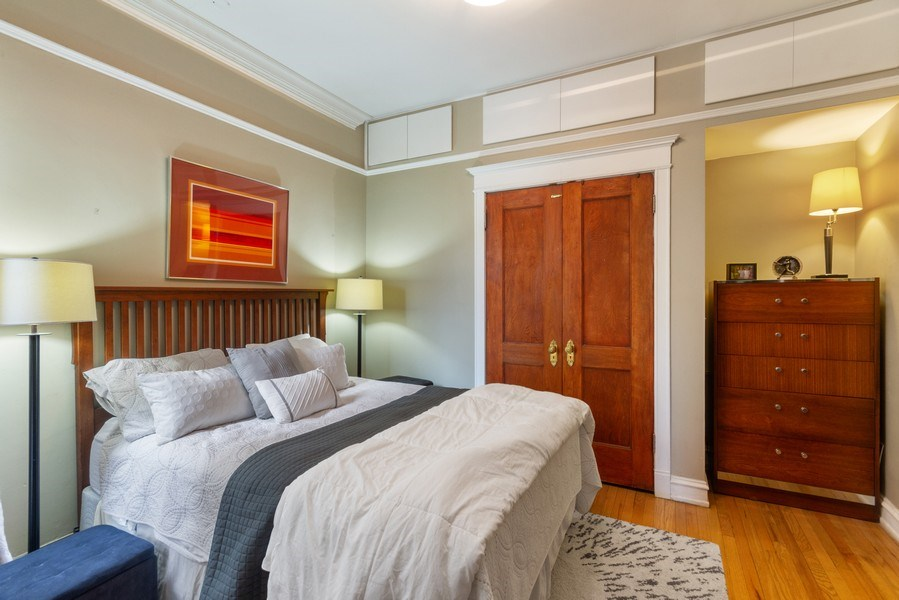 Real Estate Photography - 519 W. Surf, Chicago, IL, 60657 - Bedroom