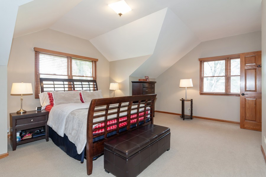 Real Estate Photography - 1S155Myrtle Avenue, Oakbrook Terrace, IL, 60181 - Master Bedroom