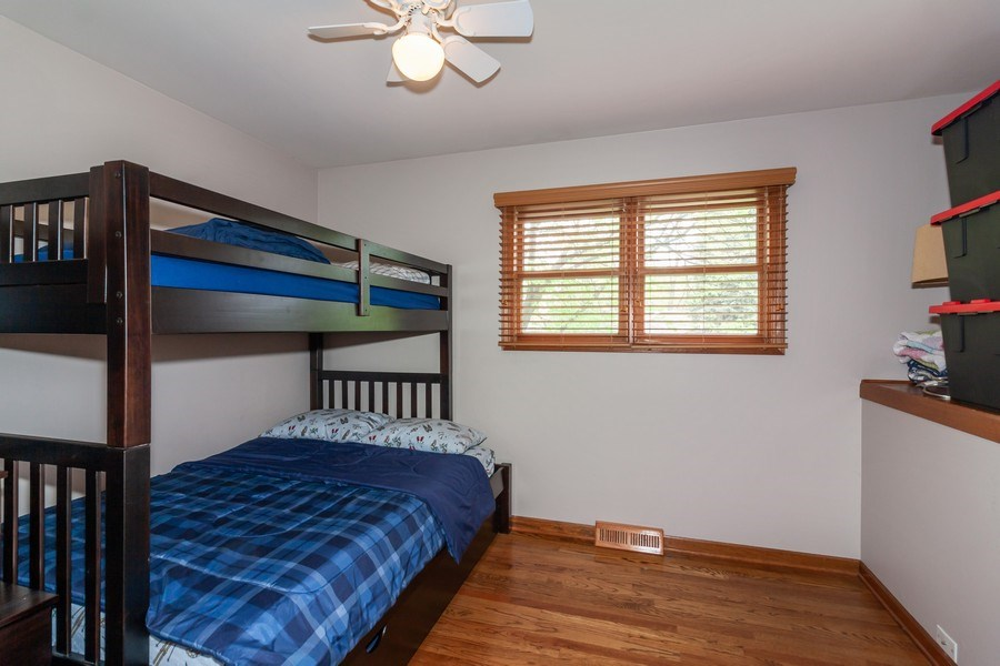 Real Estate Photography - 1S155Myrtle Avenue, Oakbrook Terrace, IL, 60181 - Bedroom