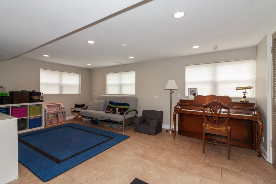 Real Estate Photography - 1S155Myrtle Avenue, Oakbrook Terrace, IL, 60181 - Basement