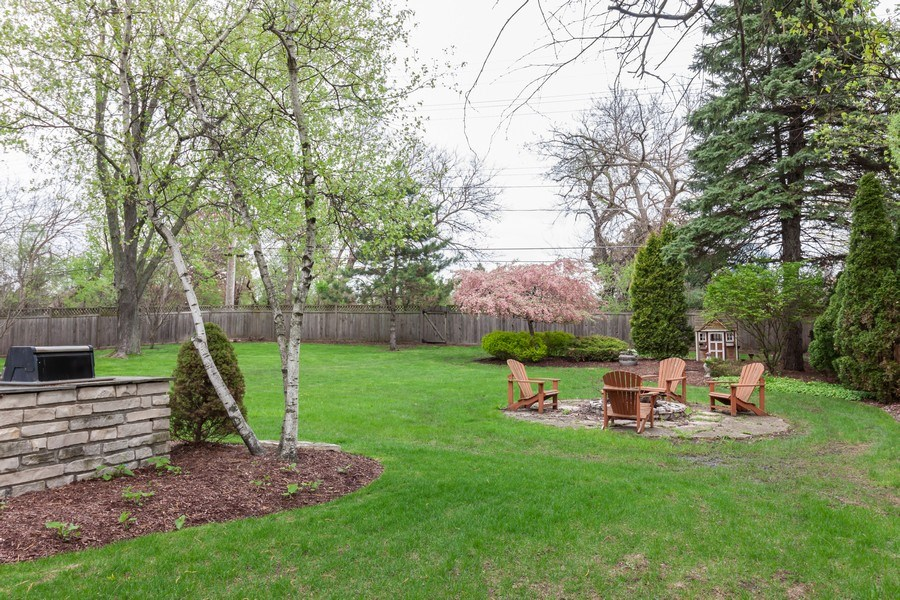 Real Estate Photography - 1S155Myrtle Avenue, Oakbrook Terrace, IL, 60181 - Back Yard